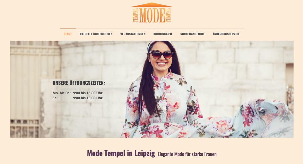 Mode Tempel – Mode für starke Frauen
